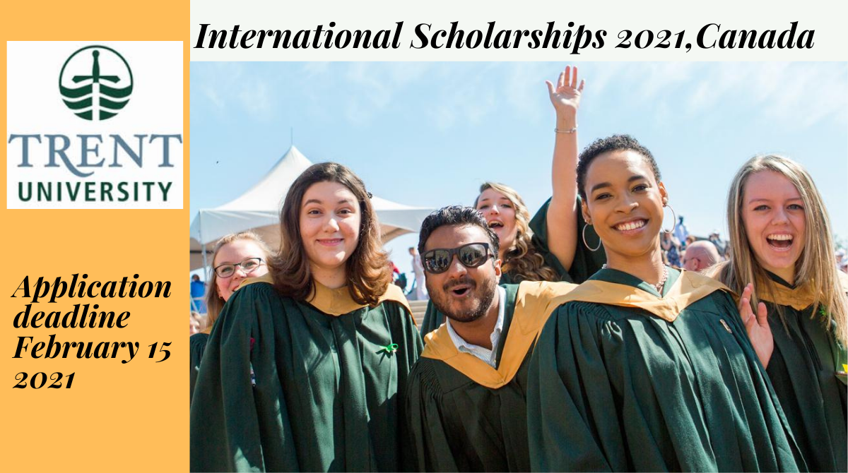 Trent University International Scholarships 2021, Canada
